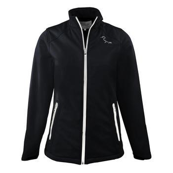 Proquip Ladies Soft Shell Jacket - Isla (Black/White)