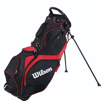 Wilson Prostaff 2014 Carry Stand Bag Black/Red