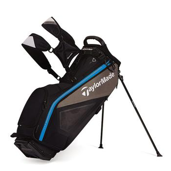 Taylormade Purelite Stand Bag: Black/Grey/Blue + FREE CAP!