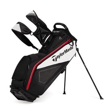 Taylormade Purelite Stand Bag: Black/White/Red + FREE CAP!