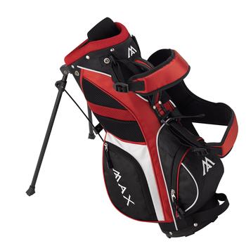 Big Max Junior Max Stand Bag - Red 3 - 6 yrs