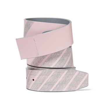 Oakley Reversible Leather Belt Strap - Pink Dust