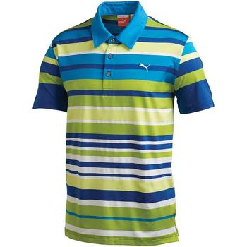 Puma Golf Junior Roadmap Stripe Polo Shirt