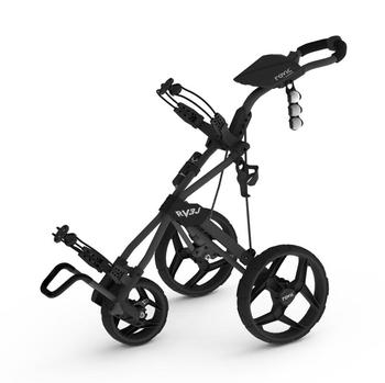 Rovic RV3J Junior Golf Trolley – Charcoal/Black