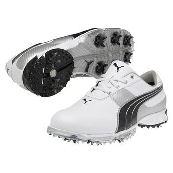 Puma Golf Spark Sport 2 Golf Shoe - White/Black - Size: 7