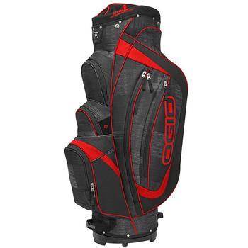 Ogio Shredder Golf Cart Bag - Charcoal/Black/Red