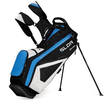 Taylormade SLDR Stand Bag: Black/White/Blue + FREE CAP!