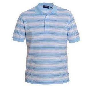Oscar Jacobson Striped Quick Dry Polo
