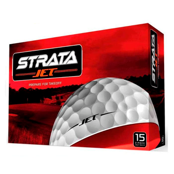 Strata - Jet Golf Balls - 15 Ball pack