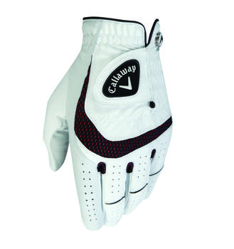 Callaway 2016 SynTech AllWeather Digitized Opti Fit Golf Glove x 1