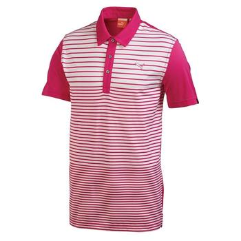 Puma Golf Mens YD Stripe Polo Shirt