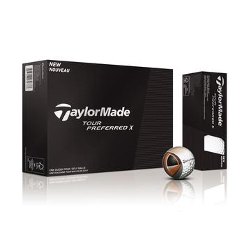 Taylormade Tour Preferred X Golf Balls 1 Dozen