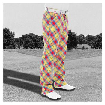 Royal & Awesome - Tartan (McYell Tartan) Golf Trousers
