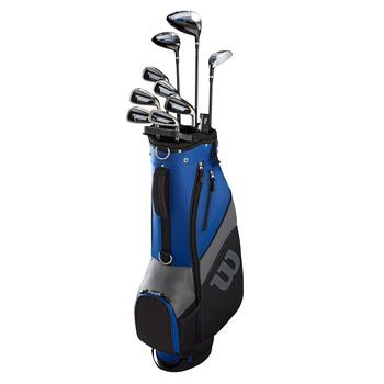 Wilson 1200 TPX Golf Package Set - Steel/Graphite