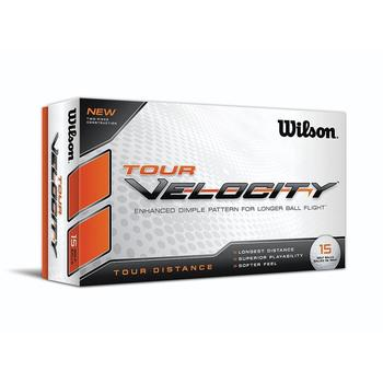 Wilson Tour Velocity Golf Balls (15 Ball Pack)
