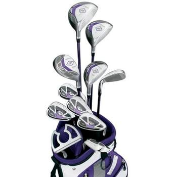 Wilson Ladies X-31 Golf Package Set 2010 + FREE 24 Ball Pack!