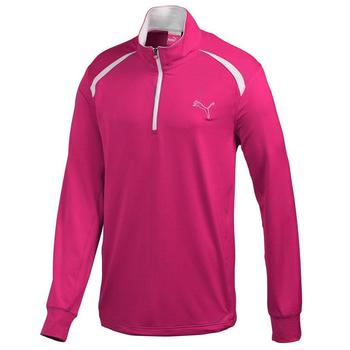 Puma Golf Long Sleeve 1/4 Zip Top - Crimson