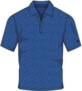 Under Armour Mens Crestable Playoff Polo - Squadron (1272402-439)