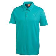 Puma Golf Junior Tech Polo Shirt Scuba
