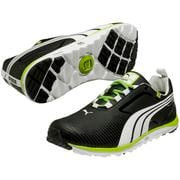 Puma FAAS Lite Golf Shoes - Black/White/Green
