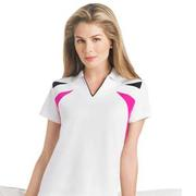 EP Pro Ladies Tour Tech Micro Waffle Jacquard Polo