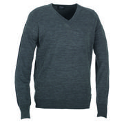 Galvin Green Clive Sweater - Grey Melange