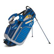 Callaway Hyper-Lite 5 Stand Bag - Navy/Grey/Gold