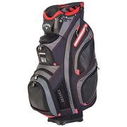 Callaway Golf Org 15 Cart Bag - Black/Charcoal/Red