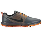 Nike Explorer Spikeless Golf Shoes DarkGrey/Silver/Orange