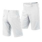 Click Golf Shop | Nike Men's Groove Golf Shorts White (518067-100)