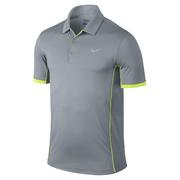 Nike Modern Tech Ultra Polo - Dove Grey/Volt
