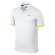 Nike Modern Nike Tech Ultra Polo - White/Volt/Wolf Grey