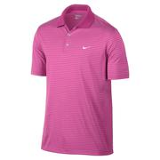 Nike Victory Stripe Polo - Pink Powder/White