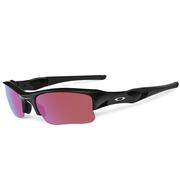 Oakley Flak Jacket XLJ Polished Black w/Prizm Golf