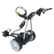 Powakaddy FW7 Electric Trolley Silver/Aluminium Trim