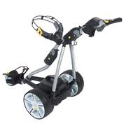 PowaKaddy FW7 Electric Trolley Titanium Silver/ Carbon Fibre Trim