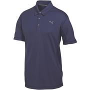 Puma Golf Junior Tech Polo Shirt Peacoat