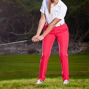 Stromberg Elaina Ladies Golf Trousers - Raspberry