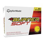Taylormade Burner Yellow Golf Balls