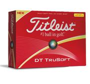 Titleist DT Trusoft Yellow Golf Ball