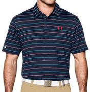 Under Armour ColdBack Par Stripe Polo Blue (1253474-408)