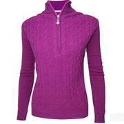 Green Lamb Bella Superwool Sweater - Purple
