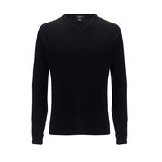 Callaway High V Lambswool Sweater Black