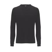Callaway High V Lambswool Sweater Charcoal