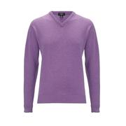 Callaway High V Lambswool Sweater Clematis