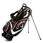 Callaway Euro Chev Organiser Stand Golf Bag - Red/White