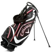 Callaway Golf Euro Chev Stand Golf Bag - Black/White