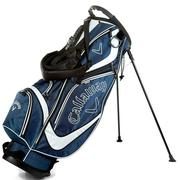 Callaway Golf Euro Chev Stand Golf Bag - Navy/White