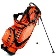 Callaway Golf Euro Chev Stand Golf Bag - Orange/Black