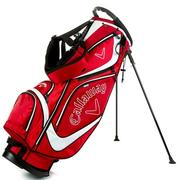 Callaway Golf Euro Chev Stand Golf Bag - Red/White